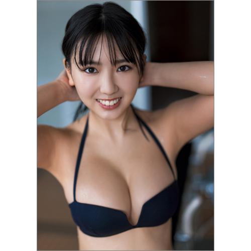 沢口愛華 サイン入り写真パネル